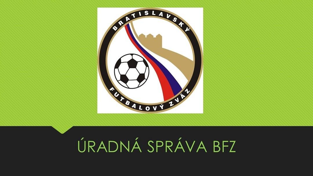 ÚRADNÁ SPRÁVA Č.47 ZO DŇA 08.06.2018