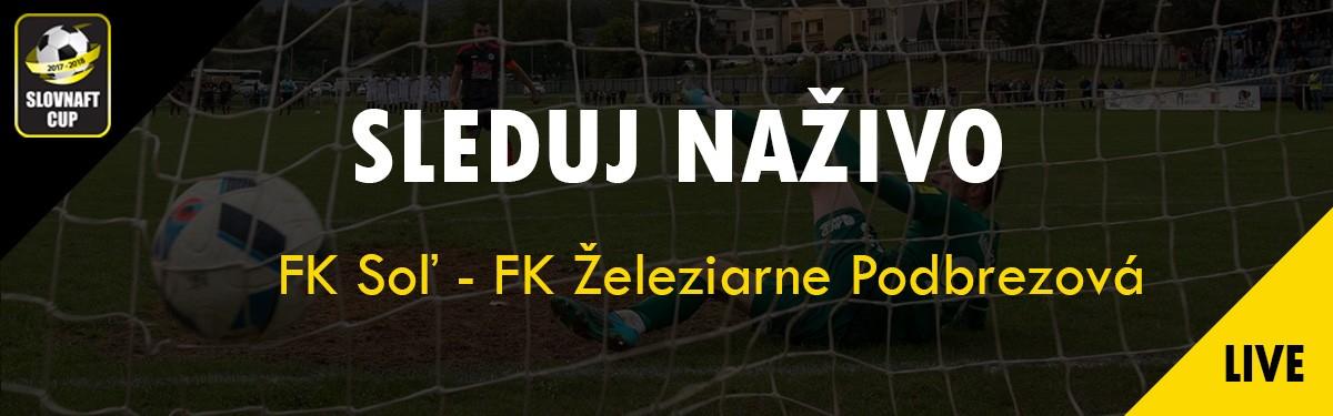 LIVE: 4.10. 2017 15:30 FK Soľ – FK Železiarne Podbrezová