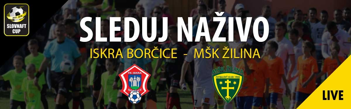 LIVE: 14.3. 2018 14:30 TJ ISKRA BORČICE – MŠK ŽILINA