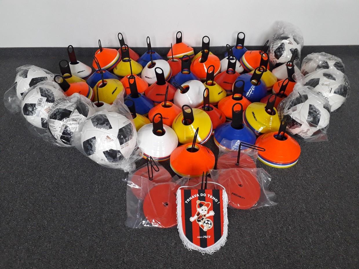 FC Spartak Trnava v rámci podpory mládežníckeho futbalu v ObFZ Trnava