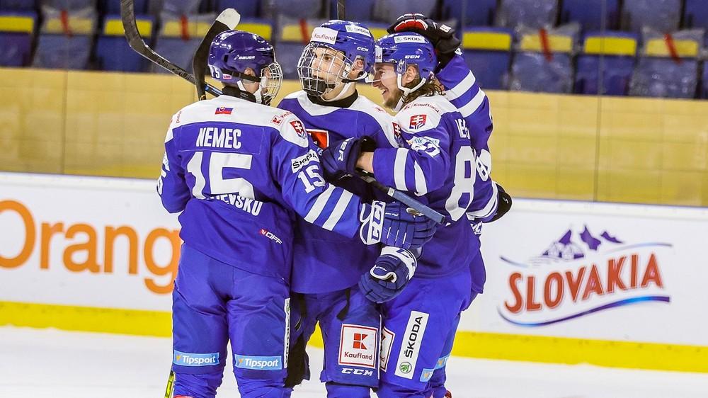 Zverejnili nomináciu Slovenska na MS v hokeji, na šampionát idú aj 17-roční chlapci