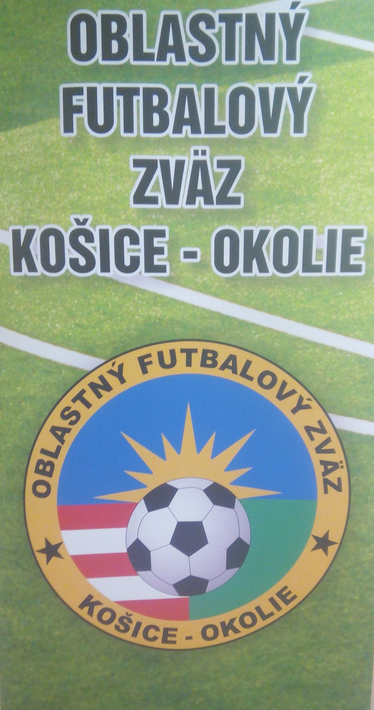 Termín Riadnej konferencie Oblastného futbalového zväzu Košice - okolie