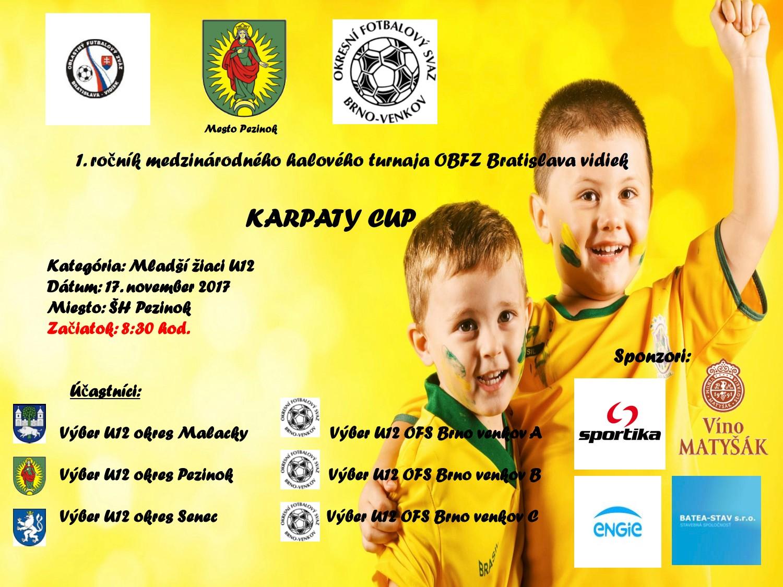 Medzinárodný turnaj U12 - Karpaty Cup 2017