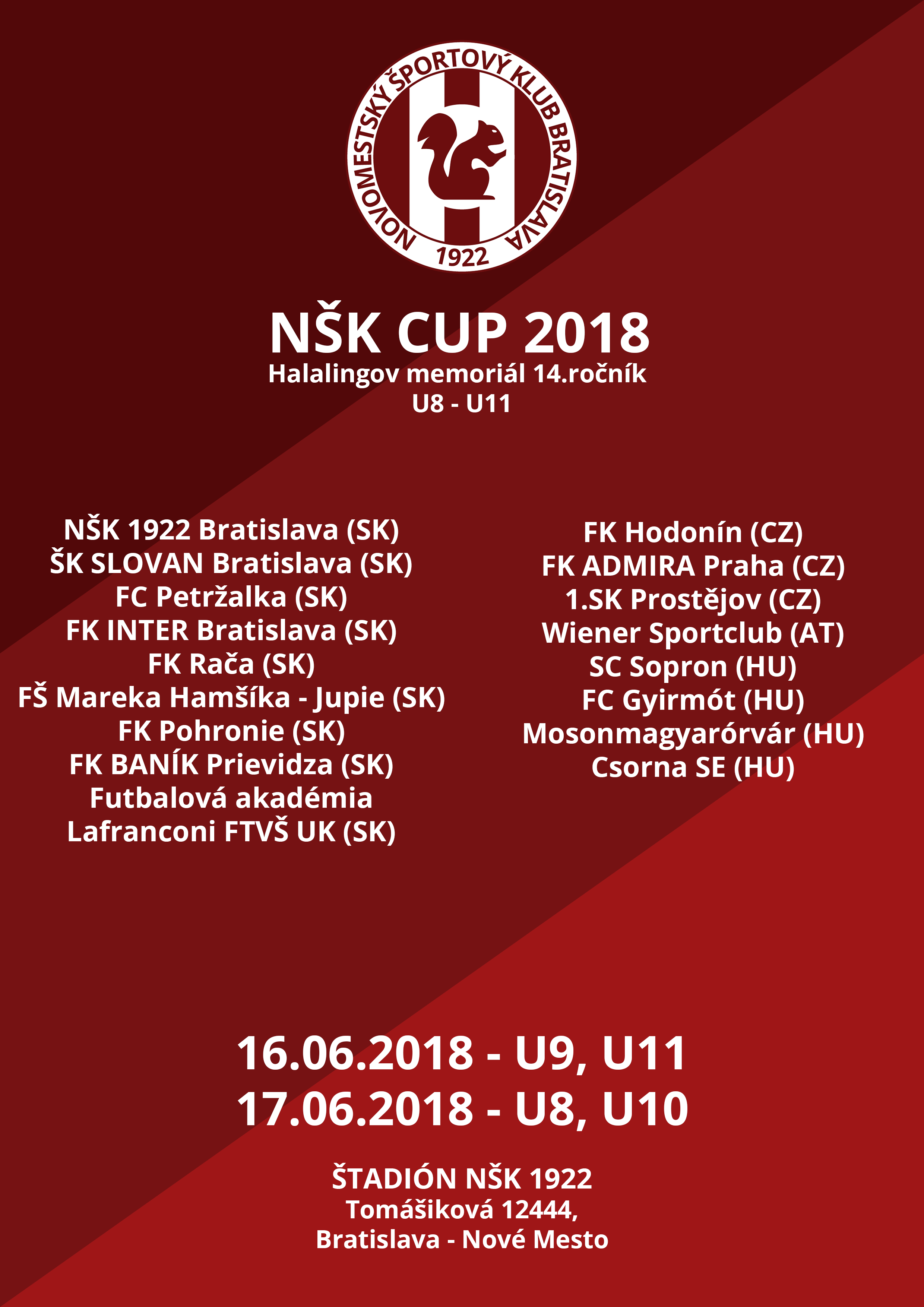NŠK CUP 2018