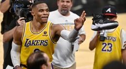 Hráči Golden State v NBA stále neprehrali, Lakers zvládli zápas aj bez lídra
