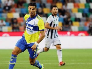 Juventus stratil dvojgólový náskok, Ronaldo začal iba na lavičke