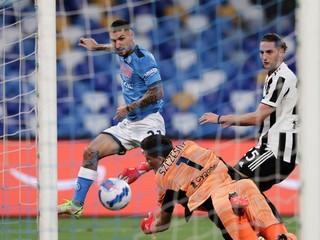 Juventus prehral druhý zápas za sebou, nestačil na Neapol bez Lobotku