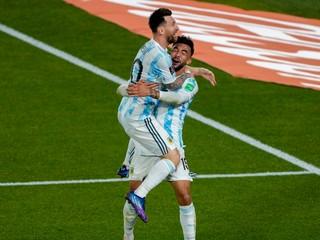 Messi nasmeroval Argentínu k jasnému triumfu, Brazília prvýkrát zakopla
