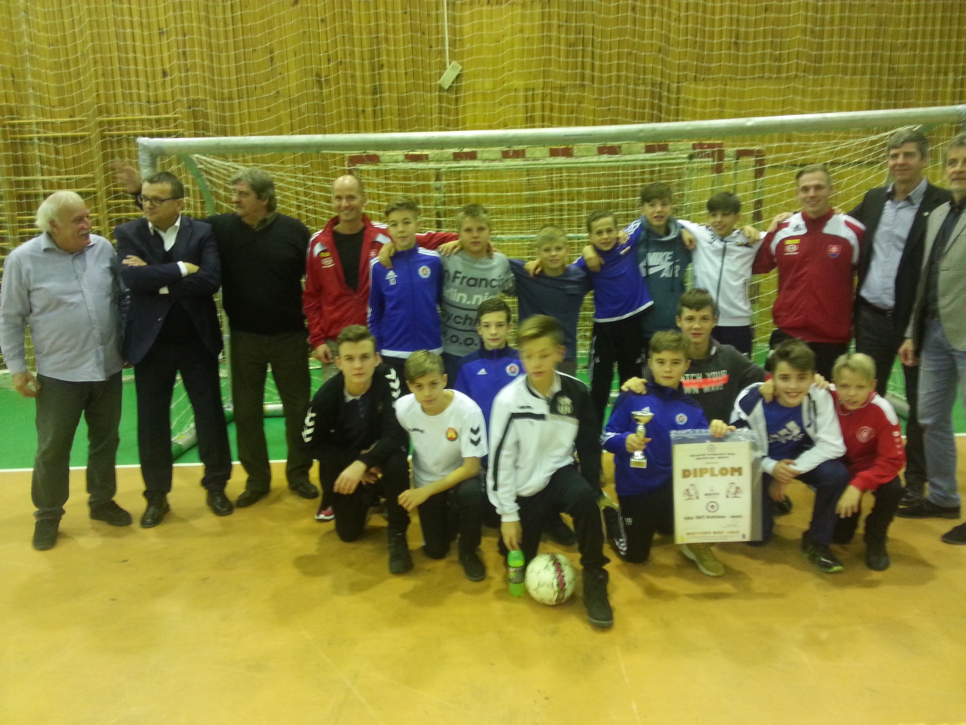 MTK Budapešť zaslúžene vyhral Victory Cup 2017