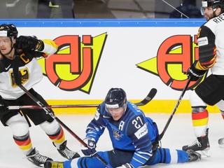 VIDEO: Pozrite si zostrih a góly semifinále Fínsko - Nemecko na MS v hokeji 2021