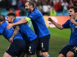 Taliansko jasá. Leonardo Bonucci vyrovnal finále EURO
