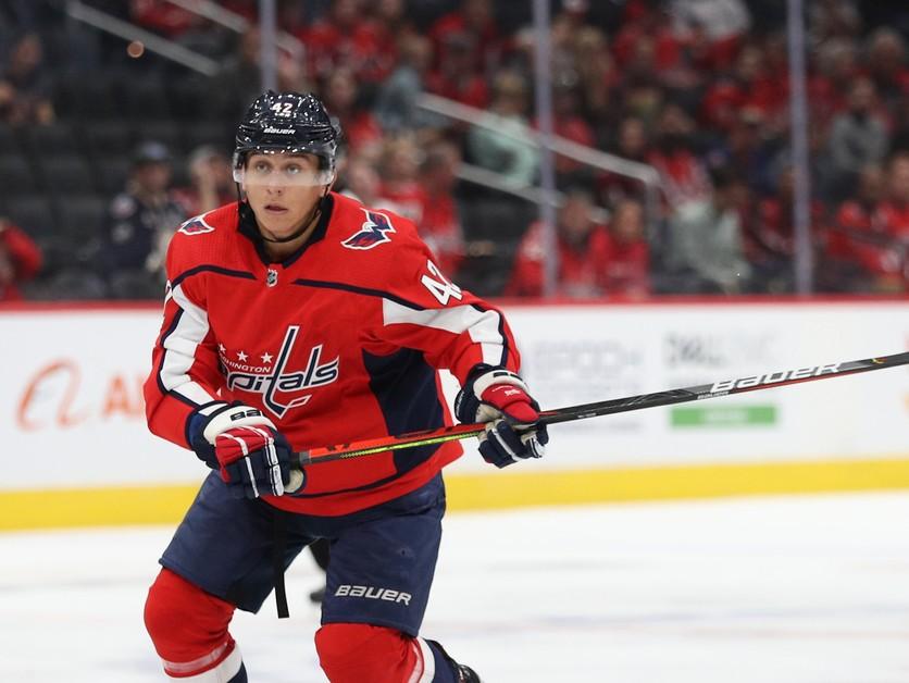 Fehérváry strelil prvý gól v NHL, hneď mu gratuloval Ovečkin