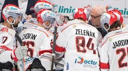 Hráči Capitals si zastrieľali proti Klagenfurtu, Sádecký sa blysol hetrikom