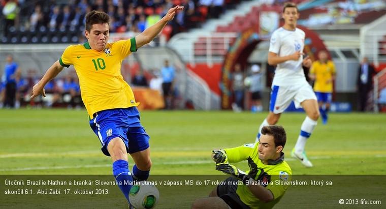 96621361094af VIDEO: MS U17: Brazília - Slovensko 6:1 | Slovenský futbalový zväz