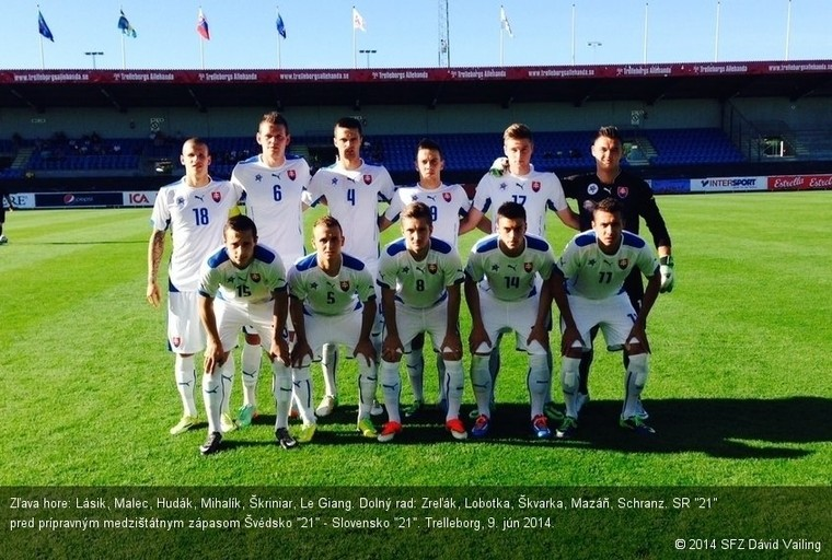 33a5f4dbd4bc3 TRELLEBORG (SFZ) - Zverenci trénera Galáda podľahli v prípravnom  medzištátnom zápase reprezentácii Švédska do 21 rokov 0:1