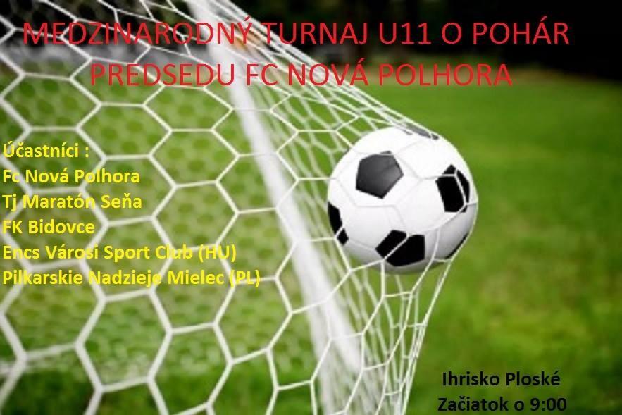 Medzinárodný mládežnícky turnaj o pohár predsedu FC Nová Polhora