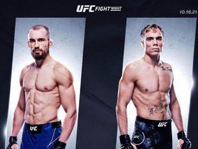 ONLINE: Ľudovít Lajoš Klein vs. Nate Landwehr (UFC Vegas 40) LIVE