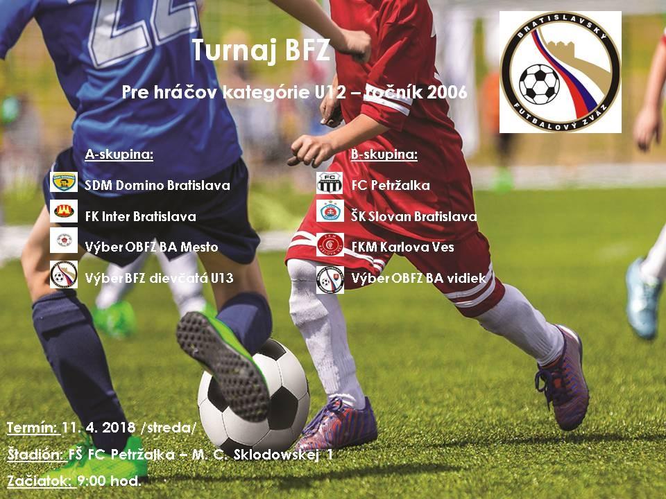 Turnaj BFZ - U12
