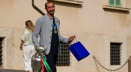 Taliansky prezident vyznamenal futbalistov za triumf na ME