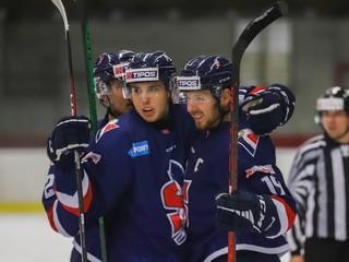 Slovan jasne zdolal Trnavu, Modré krídla majú najlepšiu sériu v lige