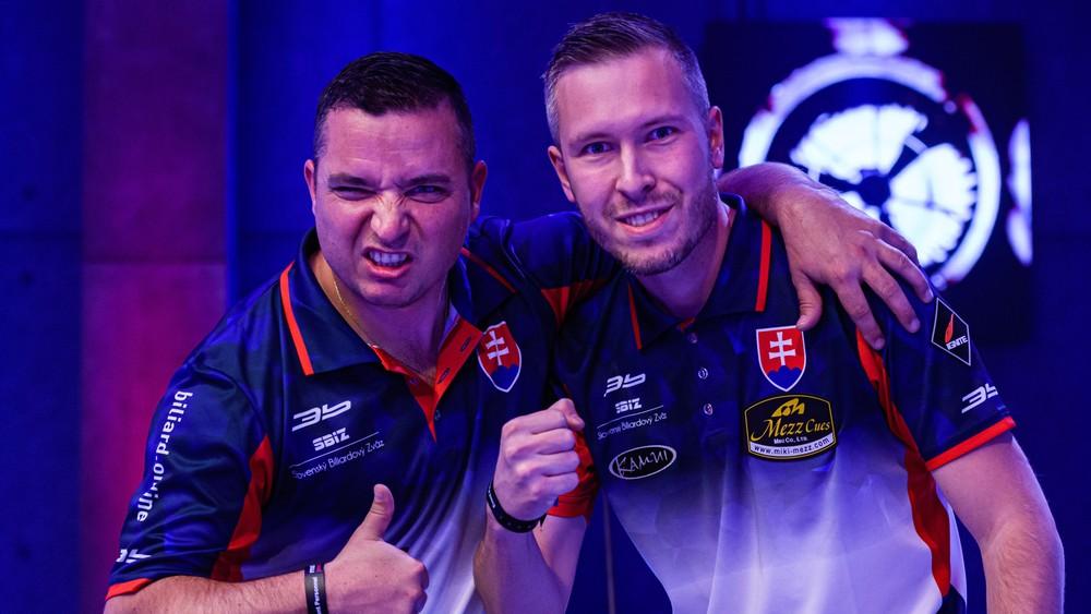 Zvládli veľkú drámu. Slováci postúpili už do semifinále MS v biliarde