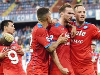 Neapol valcuje ďalej, za tri dni deklasoval Udinese i Sampdoriu