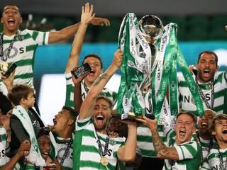 Ukončili 18-ročné kraľovanie dvoch rivalov. Sporting získal portugalský titul