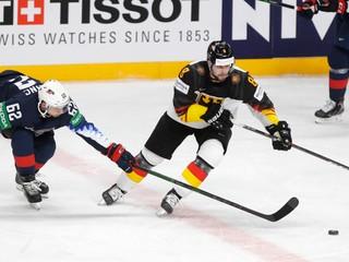USA - Nemecko: ONLINE zo zápasu o bronz na MS v hokeji 2021