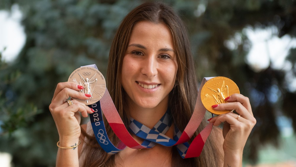 Kúsok mojej zlatej medaily patrí aj Slovensku, vraví Benčičová