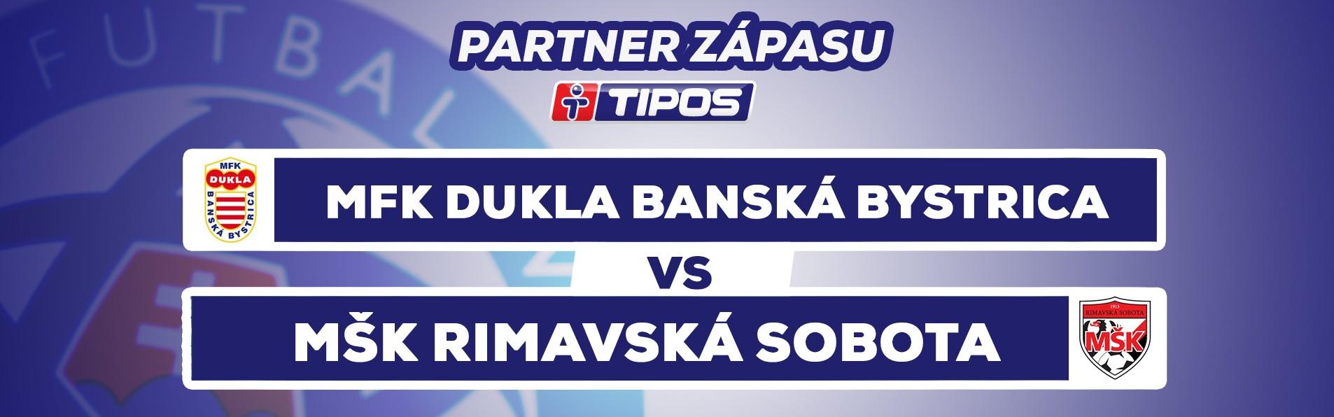 LIVE: TIPOS III. LIGA STRED: 13.5. 2018, 10:30 MFK DUKLA BANSKÁ BYSTRICA – MŠK RIMAVSKÁ SOBOTA