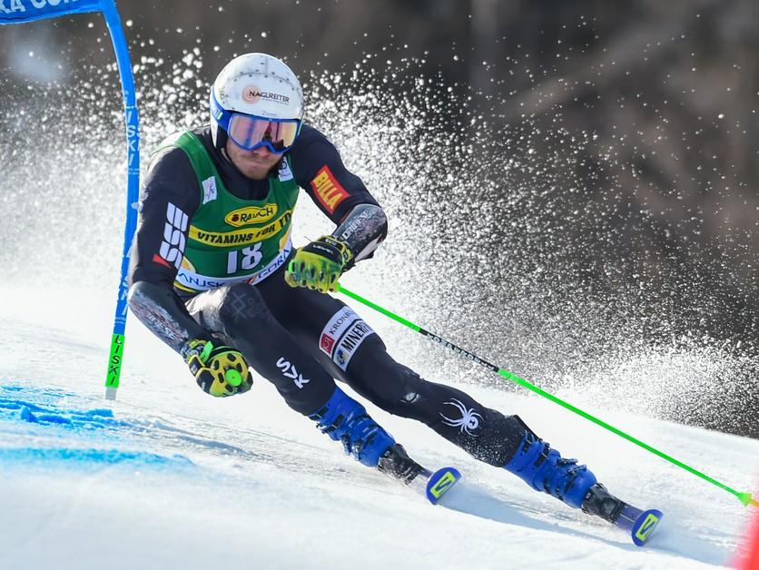 ONLINE: Adam Žampa dnes ide obrovský slalom v Söldene (1. kolo)