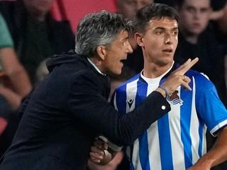 Real Sociedad v závere vyhral iba s desiatimi hráčmi, Valjent hral celý zápas