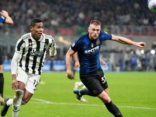 Inter remizoval s Juventusom. Lazio s Mussolinim zostrelil štyrmi gólmi Simeone