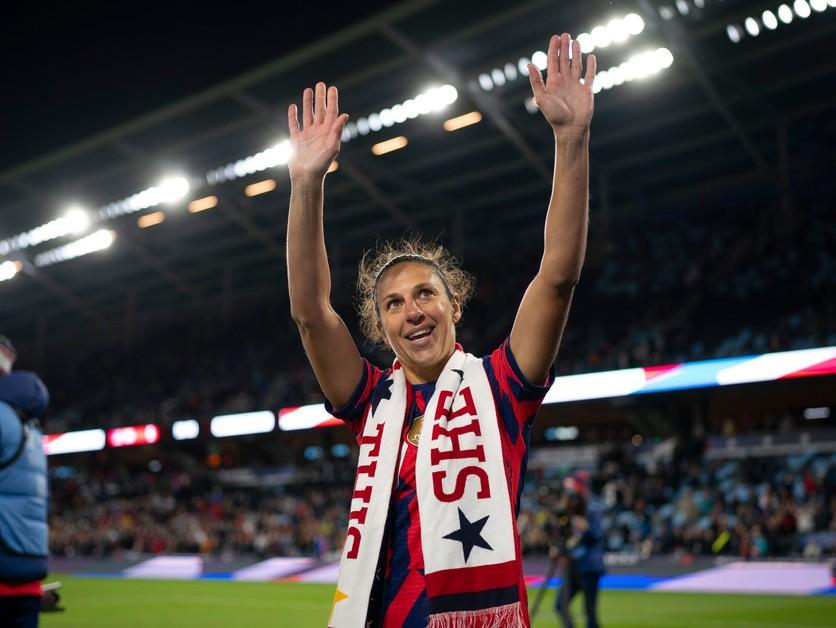 Americká legenda končí, Lloydová odohrala posledný zápas za reprezentáciu
