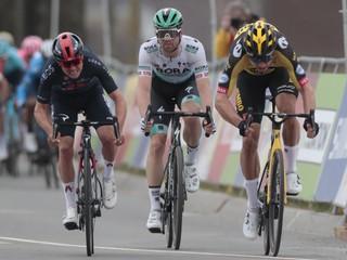 Má van Aert nového rivala? Opäť bojovali o triumf, rozhodli milimetre