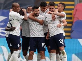 Manchester City nezaváhal, jeho titul môže spečatiť Liverpool