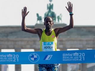 Trojnásobný olympijský šampión skončil tretí. Berlínsky maratón vyhral Adola
