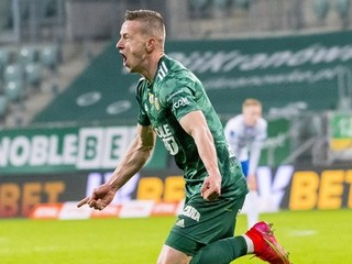 V zápase hralo až päť Slovákov. Pich skóroval pri výhre Vroclavu nad Cracoviou