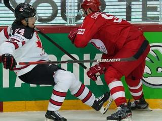 VIDEO: Pozrite si zostrih a góly štvrťfinále Rusko - Kanada na MS v hokeji 2021