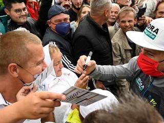 Prekoná niečo Sagana na Okolo Slovenska? Len ak príde znova a v dúhovom drese