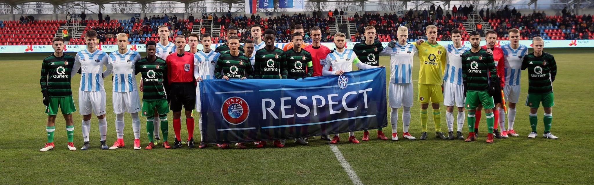 UEFA YOUTH LEAGUE: MLADÍ NITRANIA MÔŽU MAŤ HLAVY HORE