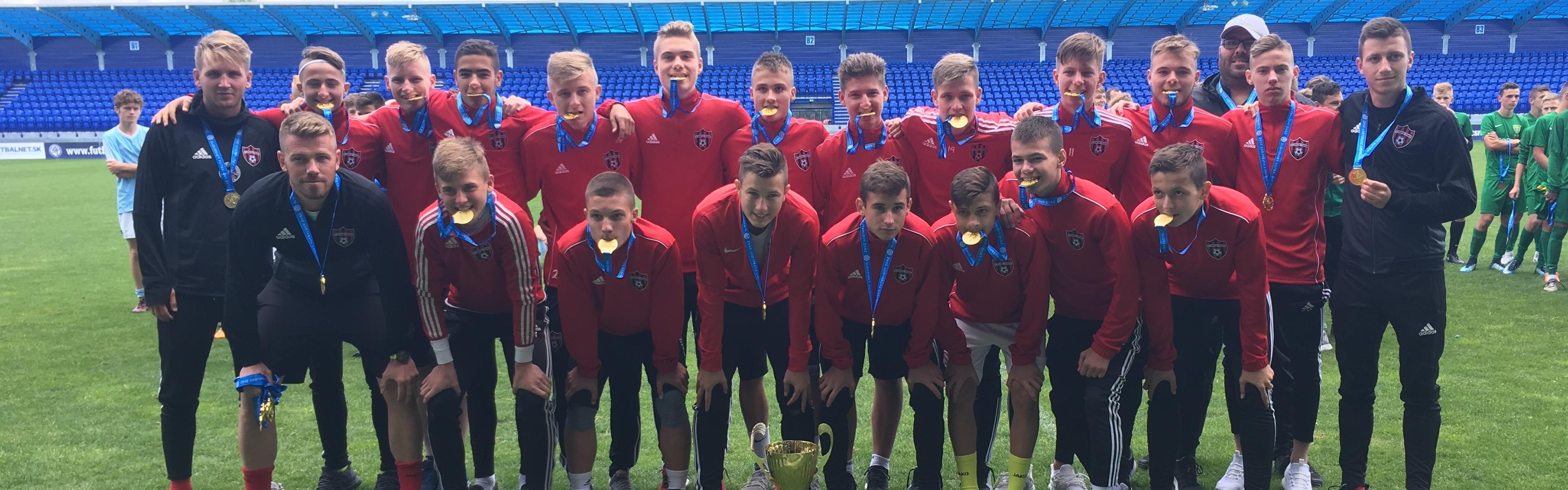 FC SPARTAK TRNAVA MAJSTER SLOVENSKA U15 2017/2018