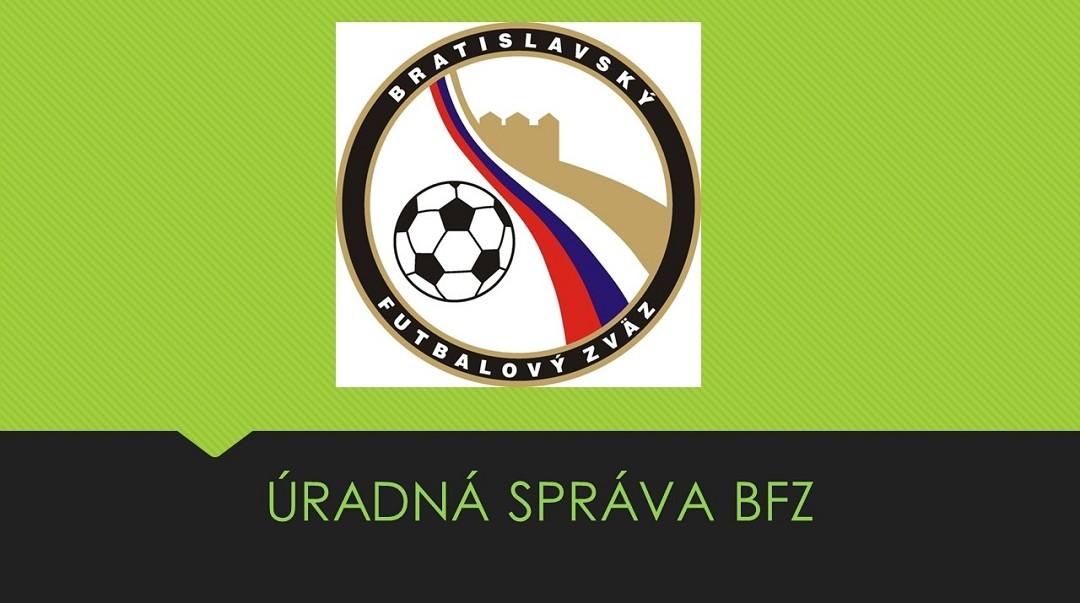 ÚRADNÁ SPRÁVA Č.14 ZO DŇA 06.10.2018
