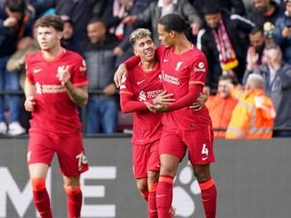 Liverpool deklasoval Kuckov Watford, padol aj hetrik
