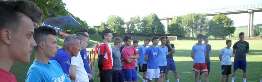 Výber ObFZ Nitra U19 začal prípravu na Kaposvár v parádnom tempe