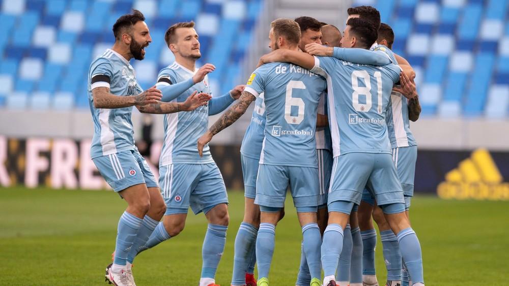 Slovan v šlágri zdolal DAC, žiaril Weiss. Ružomberok si zahrá len o záchranu