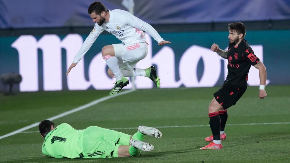 Real Madrid prišiel o víťaznú sériu, v závere zachránil aspoň bod