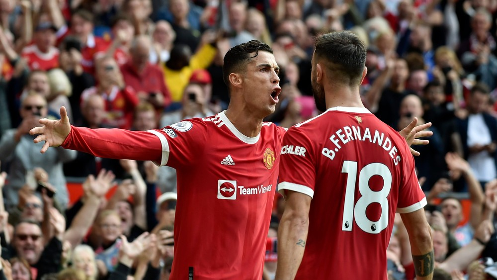Impozantný návrat. Ronaldo strelil v prvom zápase za United dva góly