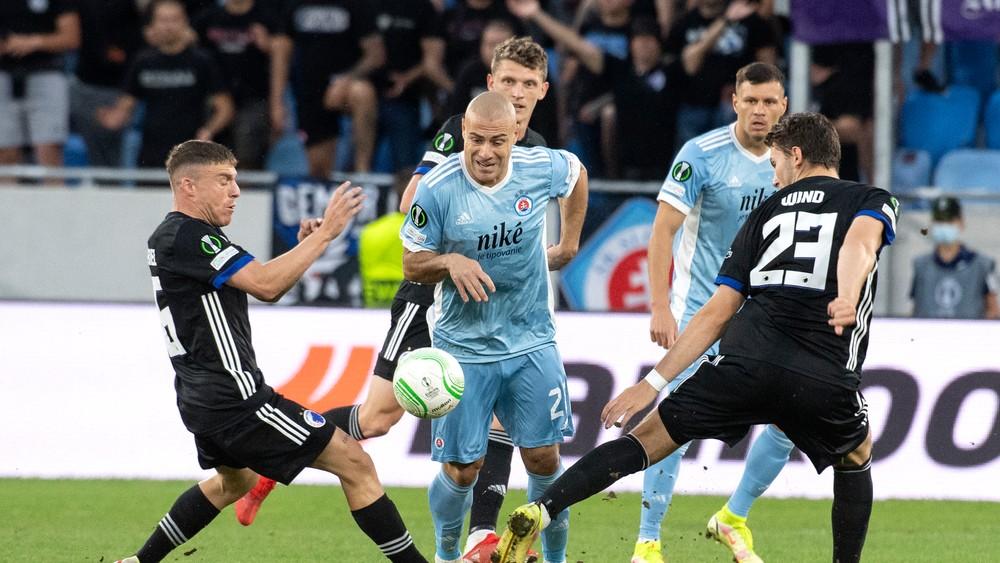 Slovanu nevyšiel vstup do skupiny Konferenčnej ligy, od Kodane dostal tri góly