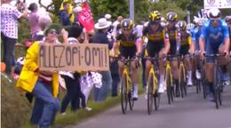 Diváčka z Tour de France sa postaví pred súd. Hrozí jej pokuta i väzenie